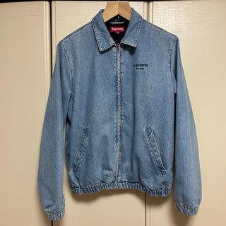 シュプリーム(Supreme)のm supreme denim harrington jacket 16aw(Gジャン/デニムジャケット)