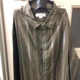 メンズティノラス(MEN'S TENORAS)のストライプシャツ メンズティノラス シャツ【クリーニング済】(シャツ)