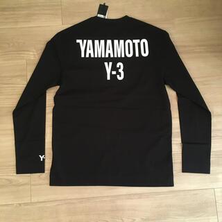 ワイスリー(Y-3)の【即発可】Sサイズ Y-3  U CH2 GFX LS TEE  ロンT(Tシャツ/カットソー(七分/長袖))