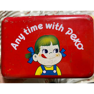 フジヤ(不二家)のペコちゃんレトロ缶ボックス(その他)