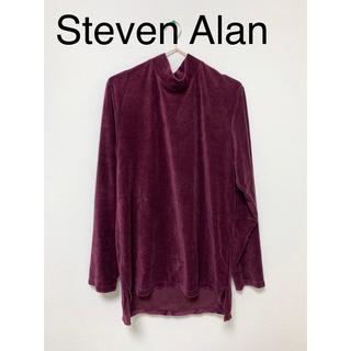 スティーブンアラン(steven alan)のミドルネック ベロア生地ロンT(Tシャツ/カットソー(七分/長袖))