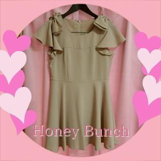 ハニーバンチ(Honey Bunch)のHoney Bunch♡ケイティワンピ(ひざ丈ワンピース)