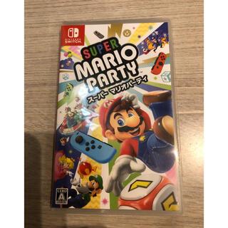 ニンテンドースイッチ(Nintendo Switch)のスイッチソフト マリオパーティ(家庭用ゲームソフト)