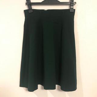サリア(salire)のSalire深緑フレアスカート(ひざ丈スカート)