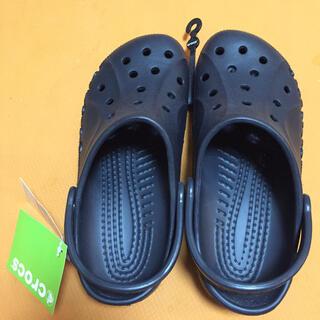 クロックス(crocs)のcrocs クロックス 新品 黒 26cm(スニーカー)