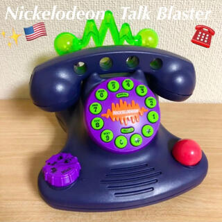 ディズニー(Disney)の1996年製 Nickelodeon  ニコロデオン トークブラスター 電話(その他)