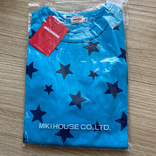 ミキハウス(mikihouse)のミキハウス  星柄ロンT 100(Tシャツ/カットソー)
