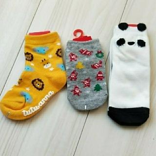 チュチュアンナ(tutuanna)の新品 靴下 3足セット(靴下/タイツ)