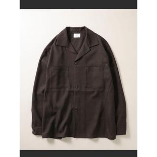 ナンバーナイン(NUMBER (N)INE)の《新品》ナンバーナイン CPO シャツジャケット L ブラウン(その他)