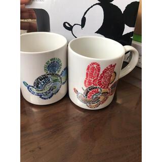 フランフラン(Francfranc)のミッキー&ミニー:マグカップ(マグカップ)