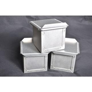 ※個数指定・同梱可!8センチ角キューブ 新品 パン焼き型 5個セット(調理道具/製菓道具)