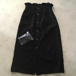 コーデュロイスカート(ひざ丈スカート)