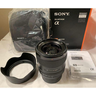 ソニー(SONY)のほぼ新品 保証あり FE 24mm F1.4 GM SEL24F14GM(レンズ(単焦点))