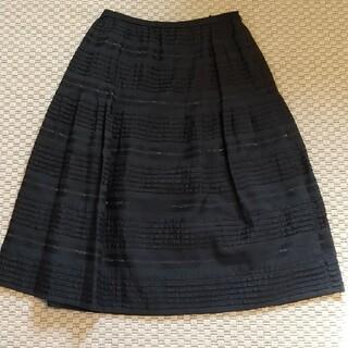 レリアン(leilian)のレリアン フレアスカート 9サイズ(ひざ丈スカート)