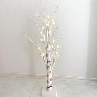 ニトリ(ニトリ)のLEDツリー シラカバ 60cm(インテリア雑貨)