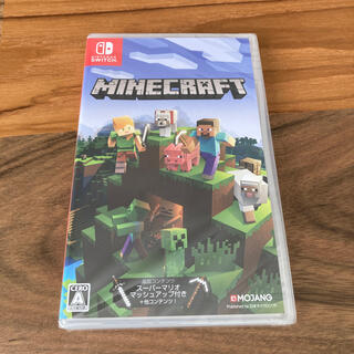 ニンテンドースイッチ(Nintendo Switch)の【新品未開封】Minecraft Switch(家庭用ゲームソフト)