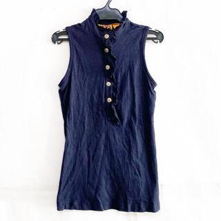 トリーバーチ(Tory Burch)のトリーバーチ ノースリーブポロシャツ XXS(ポロシャツ)