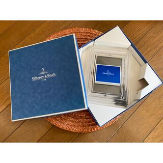 ビレロイアンドボッホ(ビレロイ&ボッホ)のビレロイ&ボッホ ガラス製フォトフレーム 写真立て Villeroy&Boch(フォトフレーム)