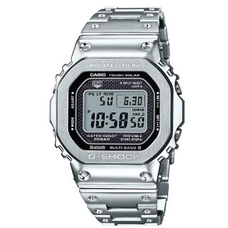 ジーショック(G-SHOCK)のG-SHOCK GMW-B5000D-1JF フルメタルシルバー 3本セット(腕時計(デジタル))
