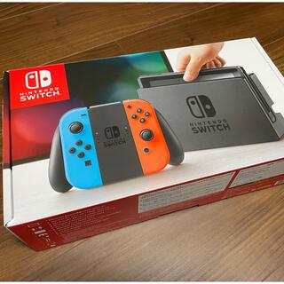 ニンテンドースイッチ(Nintendo Switch)のNintendo Switch ネオンブルー/ネオンレッド(家庭用ゲーム機本体)