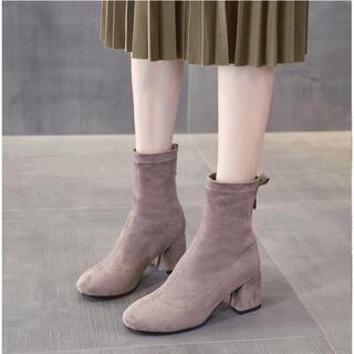 スウェードショートブーツ(ブーツ)
