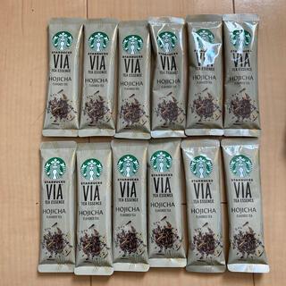スターバックスコーヒー(Starbucks Coffee)のvia スタバ ほうじ茶(茶)