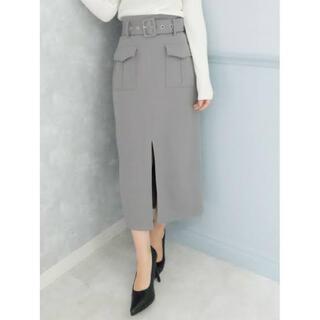 リゼクシー(RESEXXY)のRESEXXY ベルト付きタイトロングスカート(ロングスカート)