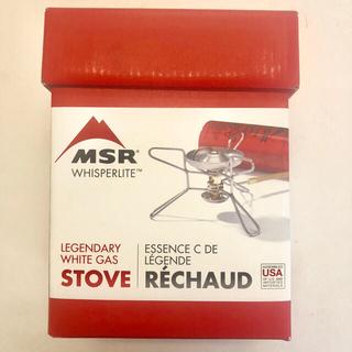 エムエスアール(MSR)のMSR シングルバーナー・ストーブ ウィスパーライト ホワイトガソリン専用(ストーブ/コンロ)