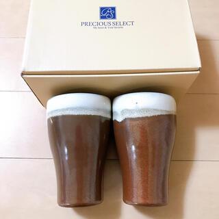 新品 未使用 陶器 ペア タンブラー グラス(タンブラー)