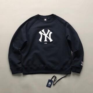 キース(KEITH)のkith Yankees boxlogo crew neck MLB(スウェット)