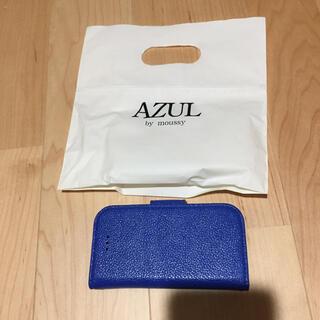 アズールバイマウジー(AZUL by moussy)のアズール? iPhone5s?カバー(iPhoneケース)