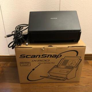 フジツウ(富士通)のFUJITSU ScanSnap iX500 スキナャナー 自炊 美品(OA機器)