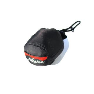 ナンガ(NANGA)の【希少】NANGA ナンガ エコバッグ エンボスブラックベース 弱撥水加工(エコバッグ)