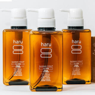 haru 黒髪スカルプ・プロ 100%天然由来シャンプー3本(シャンプー)