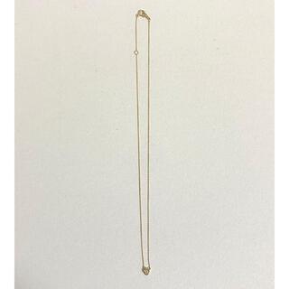 テイクアップ(TAKE-UP)のテイクアップ 日本製 K10 ダイヤモンド サークル 一粒ネックレス(YG)(ネックレス)