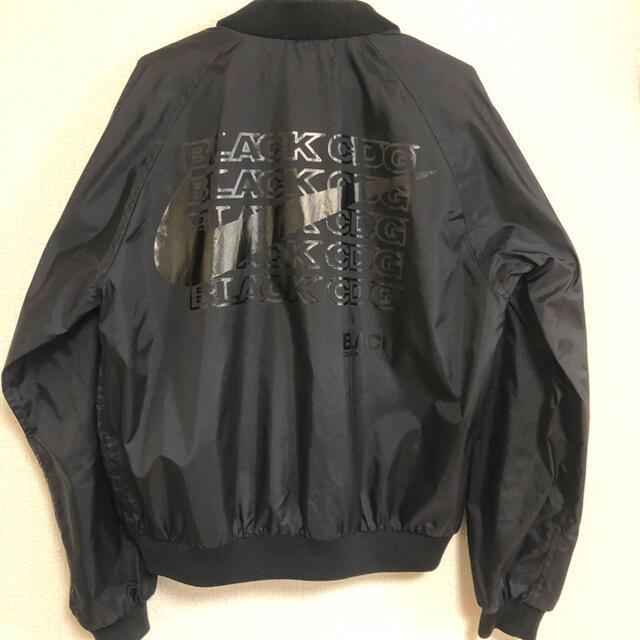 BLACK COMME des GARCONS(ブラックコムデギャルソン)のCOMME des GARÇONS x NIKE ブルゾン MA1 メンズのジャケット/アウター(ブルゾン)の商品写真