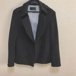 マウジー(moussy)のmoussy マウジー シンプル 黒 ブラック ピーコート Pコート(ピーコート)