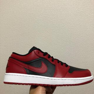 ナイキ(NIKE)の26.5 NIKE AIR JORDAN 1 LOW VARSITY RED(スニーカー)