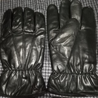 エル(ELLE)の新品未使用【ELLE】皮革メンズ手袋(手袋)