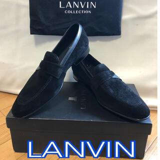 ランバンコレクション(LANVIN COLLECTION)のランバン メンズシューズ LANVIN ブラック 新品(ドレス/ビジネス)