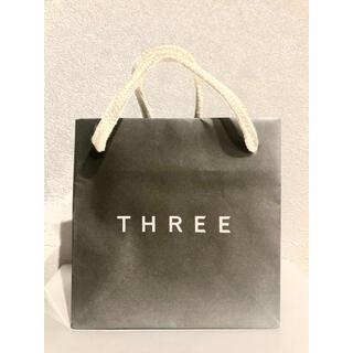 スリー(THREE)のTHREE スリー ショップ袋(ショップ袋)