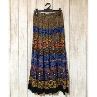 サンタモニカ(Santa Monica)の80s USA vintage carole little スカート(ロングスカート)