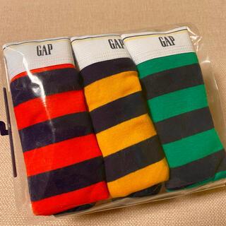 ギャップキッズ(GAP Kids)のGAP ボーダー ブリーフ パンツ 3枚セット 140㎝【新品未使用】(下着)