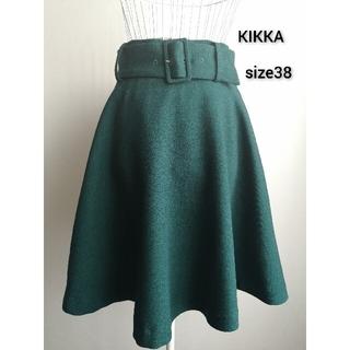 KIKKA THE DIARY OF - 美品 KIKKA THE DIARY OF ボリューミィスカート