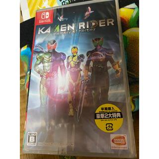 ニンテンドースイッチ(Nintendo Switch)のKAMEN RIDER memory of heroez(仮面ライダー メモリー(家庭用ゲームソフト)