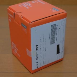 ソニー(SONY)の新品)SONYミラーレス用交換レンズSEL35F18(レンズ(単焦点))