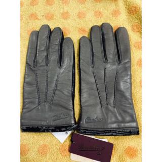 Borsalino - ボルサリーノ 皮手袋裏ニット23Sサイズ