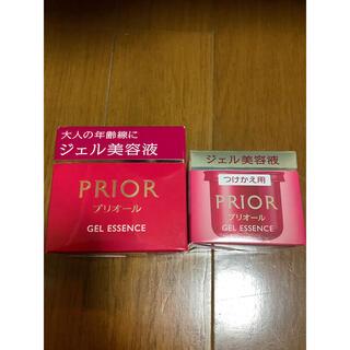 プリオール(PRIOR)のプリオール ジェル美容液  48g & つけかえ用48g   セット(オールインワン化粧品)