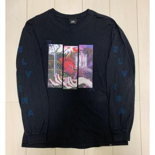 ELVIRA グラフィックロンT L 袖ロゴ(Tシャツ/カットソー(七分/長袖))
