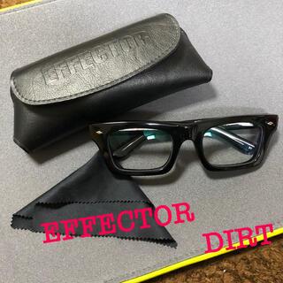 エフェクター(EFFECTOR)のEFFECTOR (エフェクター) DIRT (ダート)(サングラス/メガネ)